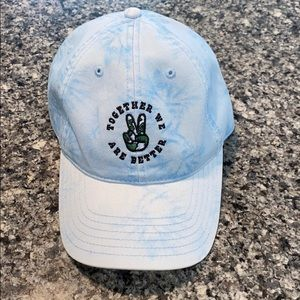 """NWOT Tie-Dye Dad Hat """"together we are better"""""""